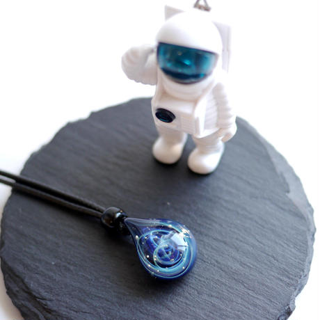宇宙グラス/ネックレス 036