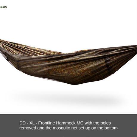 DDHammocks DD XL フロントライン ハンモック MC マルチカモ DDハンモックス社