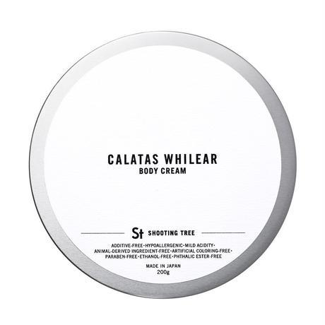 【CALATAS】 カラタス ホワイリア ボディクリーム シューティングツリー [St] 200g
