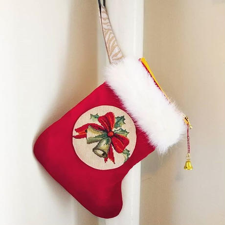 クリスマス/ソックス/ポーチ