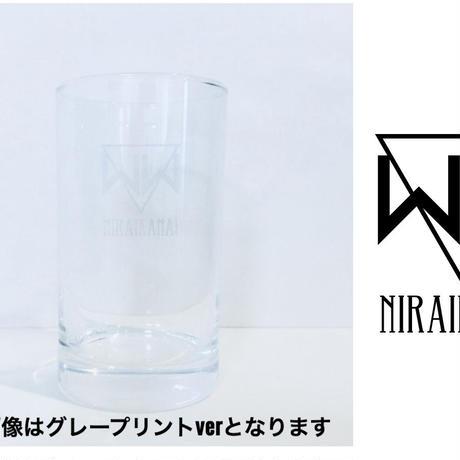 【新作!】「ACCESS TO NEO EDEN II」グラス(黒プリント)