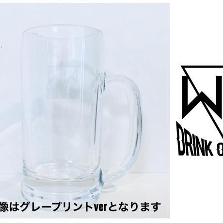 【新作!】「ACCESS TO NEO EDEN II」ビールジョッキ(黒プリント)
