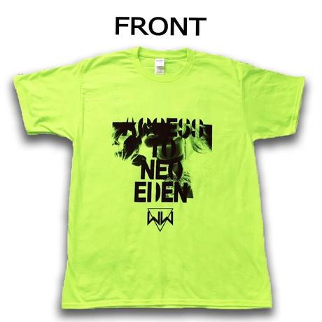 「ACCESS TO NEO EDEN II」Tシャツ(セーフティーグリーン)