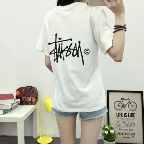 新入荷★ステューシーTシャツ 大人気!お買い得 送料無料 白黒2色あり