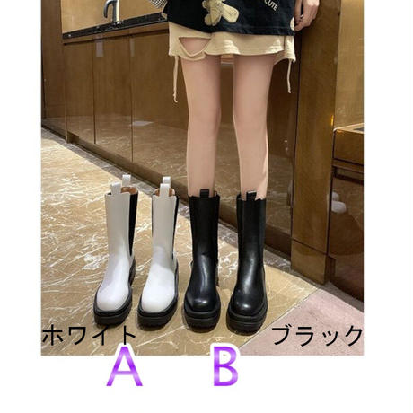 ★soldout★サイドゴア ショートブーツ 2カラー ma029