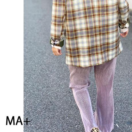 ◆即納◆値下げ!ベロアプリーツワイドパンツ 3color ma042