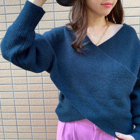 ◆即納◆値下げ!Vネック ニットセーター ma035
