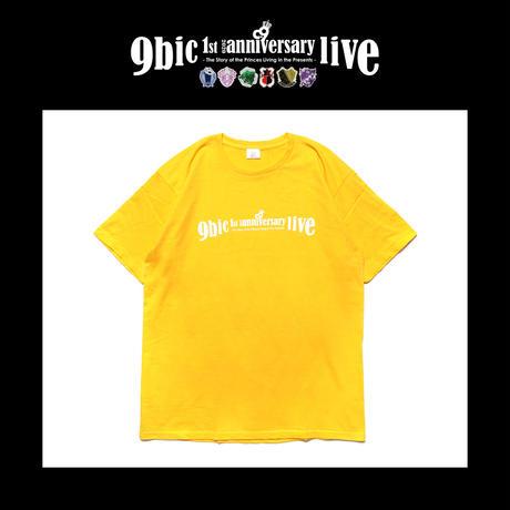 【9bic 1'st Anniversary Live 〜現在を生きる王子様達の物語〜】official tee(yellow)