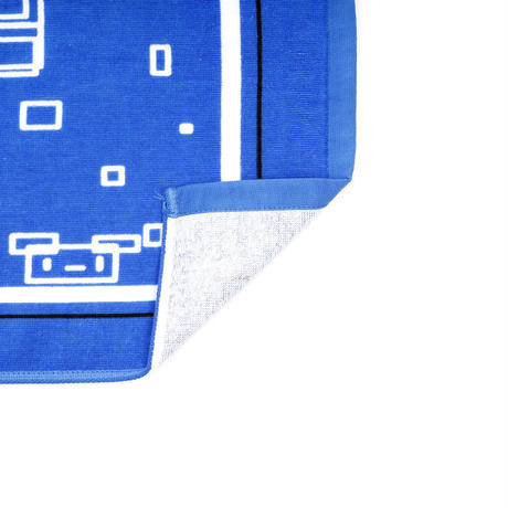【Ichikawa Keiichirou produce】フェイスタオル 「四角だけでデザインしました。別に9bicだから四角だけでデザインした訳じゃないんだからね」