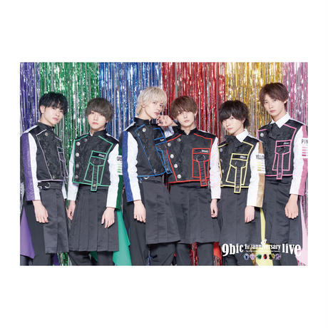 【9bic 1'st Anniversary Live 〜現在を生きる王子様達の物語〜】ポスター(全7種類)