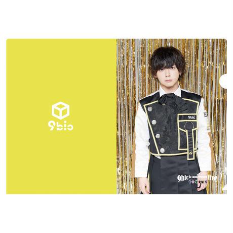 【9bic 1'st Anniversary Live 〜現在を生きる王子様達の物語〜】クリアファイル パターン①(全7種類)