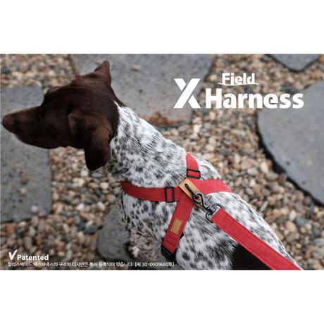 1065 FIELD X-HARNESS NAVY S フィールドXハーネス ネイビー S