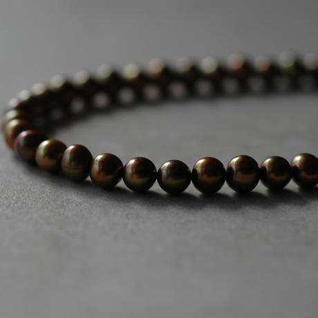 Autum pearl necklace