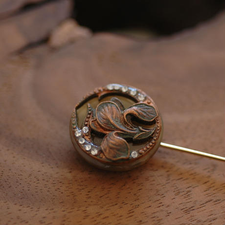 Botanical pin【hat pin type】