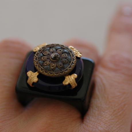 Lapis ring【size:18】