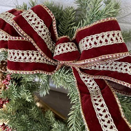 オーダークリスマスリース30cm