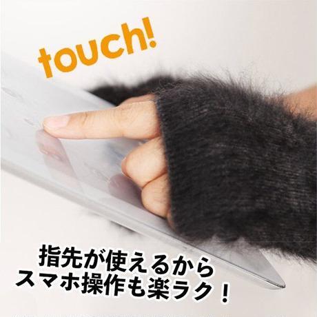 手袋 指なし ハンドカバー レディース