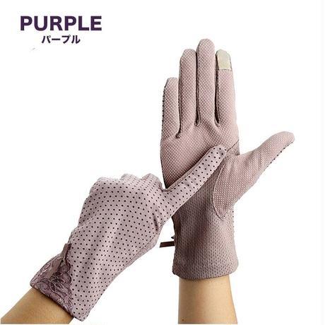 夏 手袋 接触冷感 スマホ対応