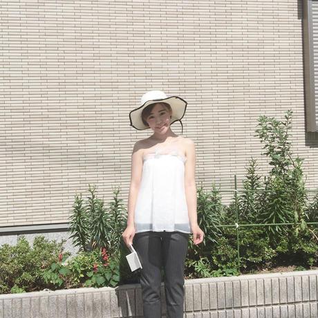 925シルバー パールストーンネックレス アクセサリー【ネックレス シンプル ストーン ゴールド/シルバー】