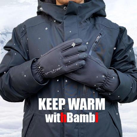 手袋 手ぶくろ 防寒 防風 防水 グローブ 裏起毛 裏フリース スマホ手袋