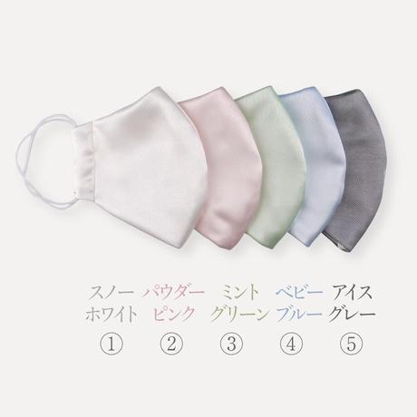 [iinoブランド]鶴岡シルクギフトセット②(フェイスタオル × 1、シルクマスク × 1)