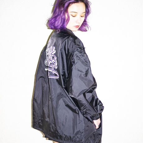 "【Outer】"" N.G.C. Graffiti "" Coach Jacket / No Gimmick Classics"