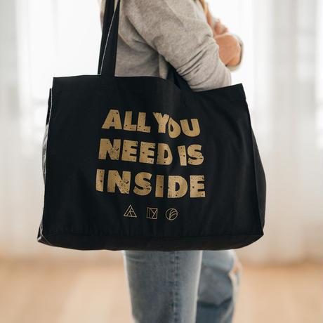 INSIDE BAG -BLACK-