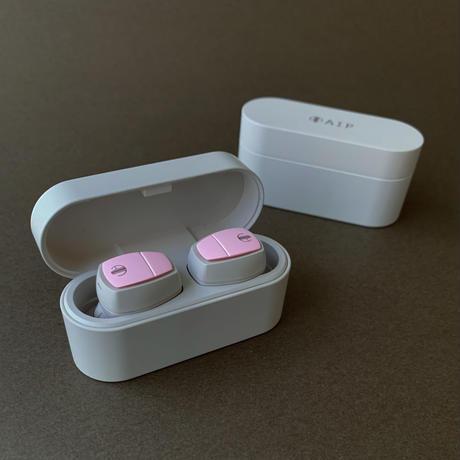 AIP BASE [AP-TW50D Beige/Pink] 完全ワイヤレスイヤホン ★100台限定生産品