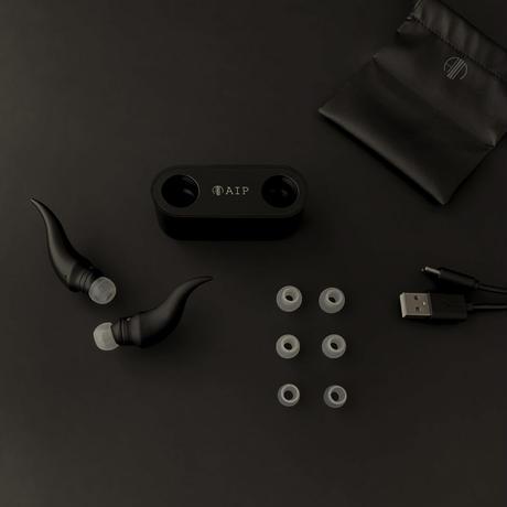 AIP EAR DEVIL [AP-TW55H Black] 完全ワイヤレスイヤホン