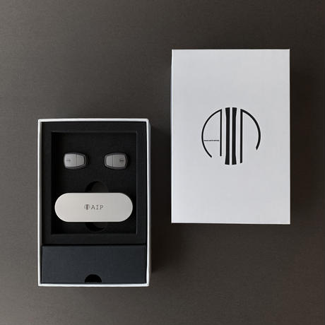 AIP BASE [AP-TW50D Brown/Gray] 完全ワイヤレスイヤホン ★次期限定生産品