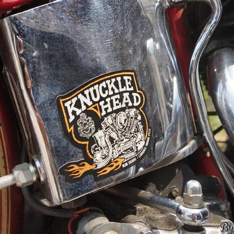 Knucklehead デカール