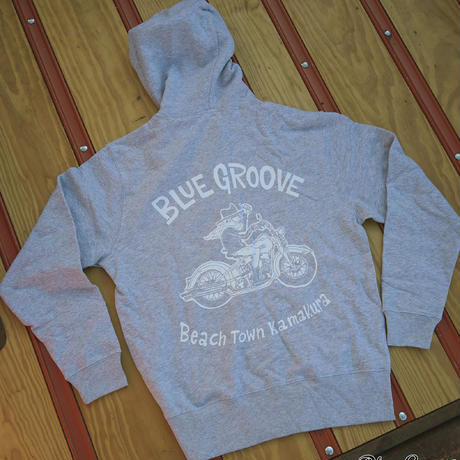BLUE GROOVE / UNCLE DAVE / ZIP UP /グレー