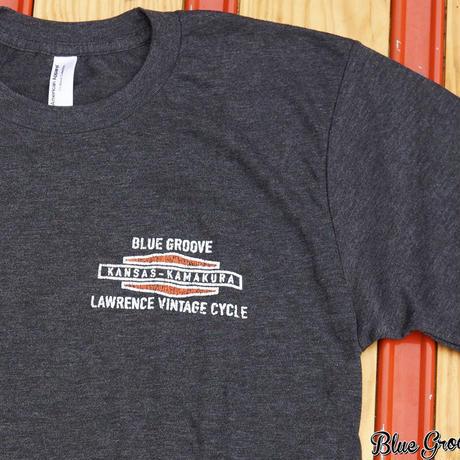 Shovelhead Tee / ショベルヘッドTeeシャツ / ローレンスビンテージサイクル BG コラボTee / ブラック