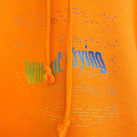 【訳あり特価】Rainbow LOGO Hoodie XL [orange]