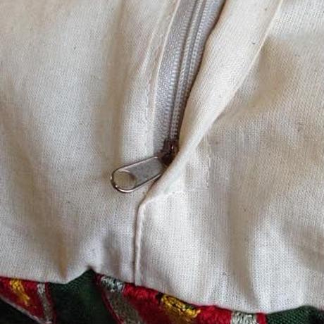 【訳あり】クッションカバー 緑ウズベキスタン 約44.5 x 44.5cm スザニ cintemani suzani cushion cover uzbekistan sz-0003