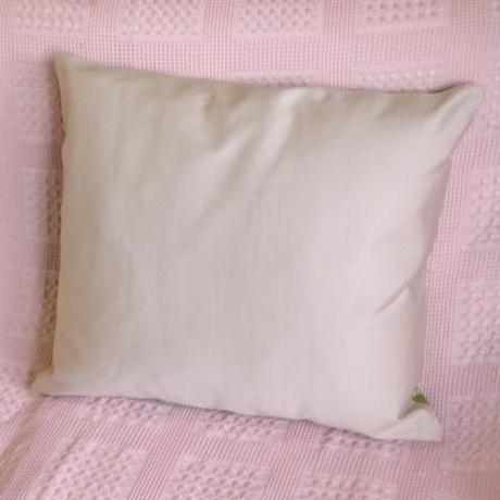 クッションカバー 黄緑ウズベキスタン 約36 x 41.5cm シルクイカット yellow green silk ikat cushion cover uzbekistan si-0006