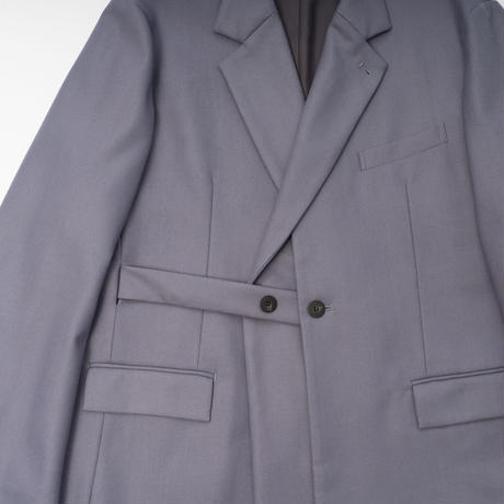 LAYERED DOUBLE BREASTED JACKET