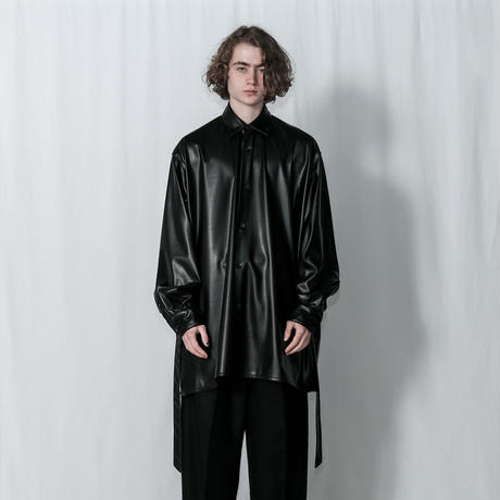 SYNTHETIC LEATHER OVER  SHIRTS