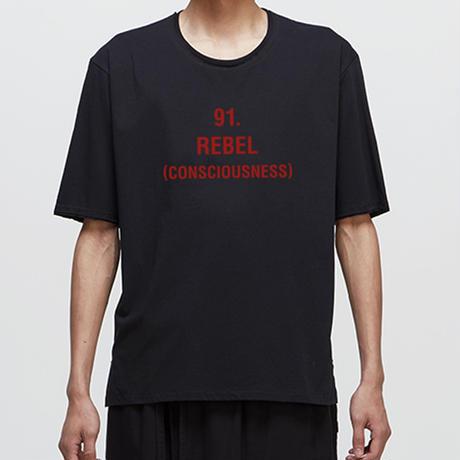 GRAPHIC T-SHIRT       91.REBEL (CONSCIOUSNESS)