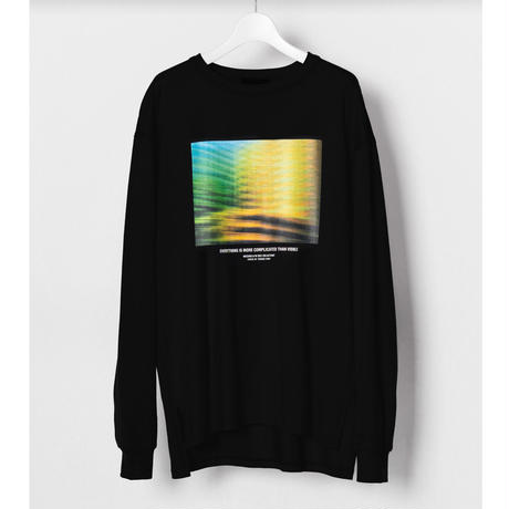 """WIZZARD x Yosuke Torii  GRAPHIC LONG T-SHIRTS """"EVERYTHING IS MORE COMPLICATED THAN VISIBLE"""""""