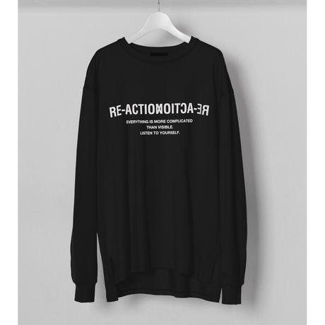 """GRAPHIC LONG T-SHIRTS """"RE-ACTION"""""""