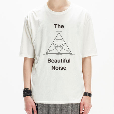 "ARCHIVE PRINT CUTSEW ""The Beautiful Noise"""