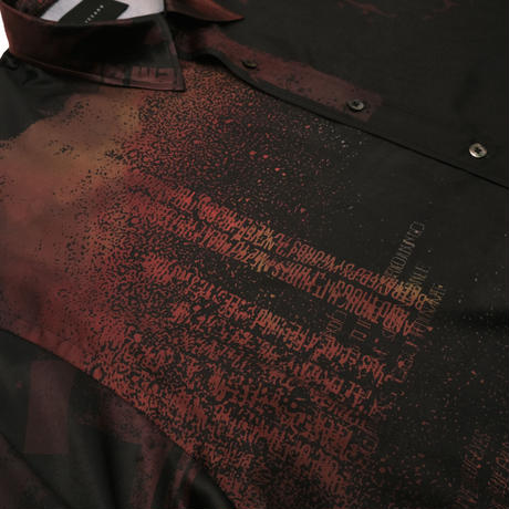 L/S PRINT SLIT SHIRTS