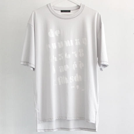 "GRAPHIC T-SHIRT ""TEXT"""