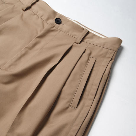 BOX PLEATS PANTS