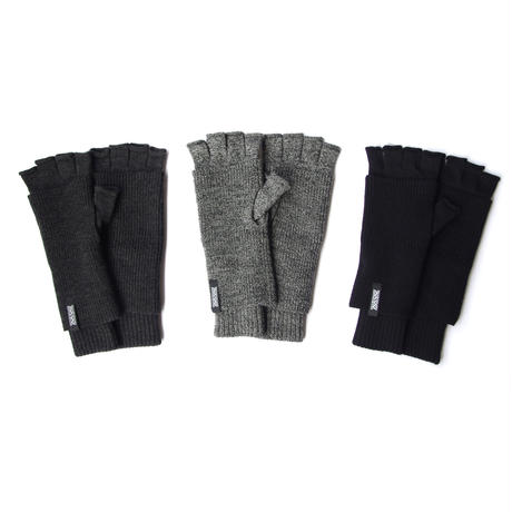 LAYERED KNIT GLOVES