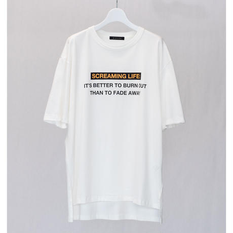 """GRAPHIC T-SHIRTS """"SCREAMING LIFE"""""""
