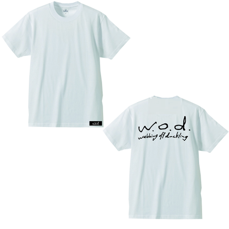 ロゴ Tシャツ[ホワイト]