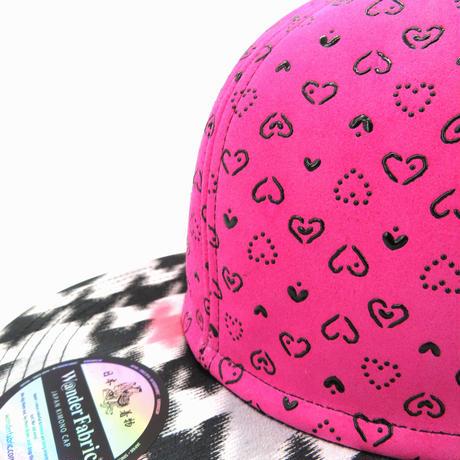 INDEN&HUJIYAMAORI CAP:PINK