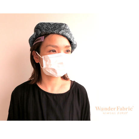 【SM】JAPAN KIMONO BERET:21909